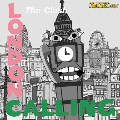 L ORACKEDO CON The Clash A CALLIN