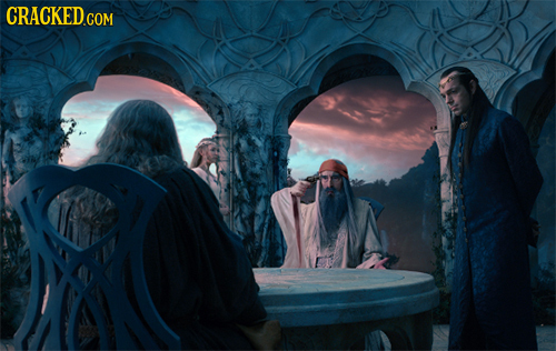 20 Rejected Scenes from 'The Hobbit'