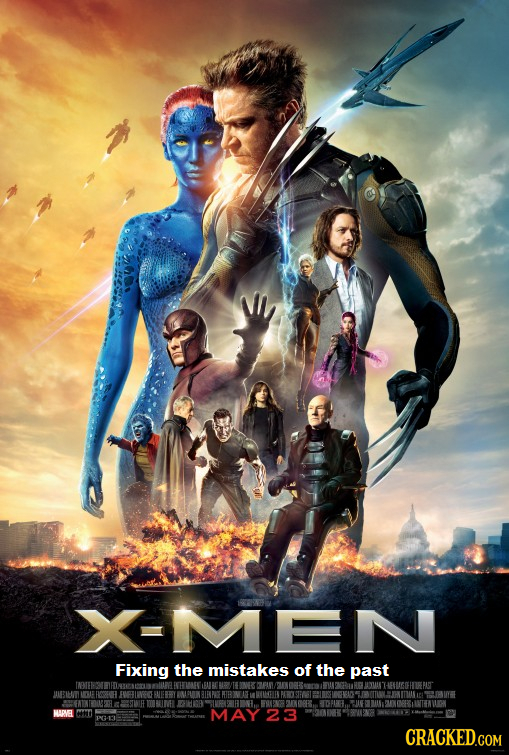 X-MEN Fixing the mistakes of the past HEUGOHHUREPAGT MBAE SHYEE MAPVEL MAY23 CRACKED.COM