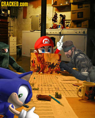 What 26 Video Game Characters Do With Their Down Time