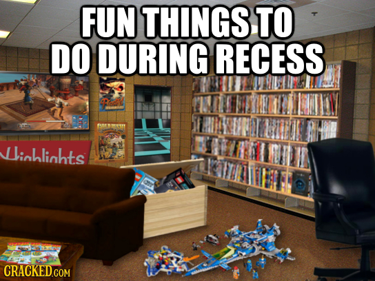 FUN THINGS TO DO DURING RECESS lichlinhts