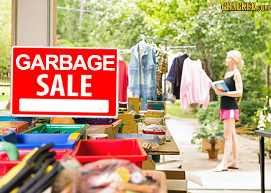 CRACKEDCO GARBAGE SALE