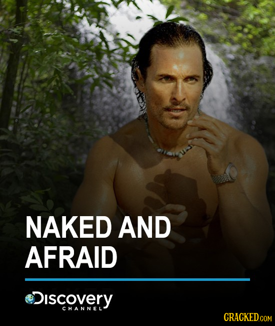 NAKED AND AFRAID iscovery CHANNEL' CRACKEDcO