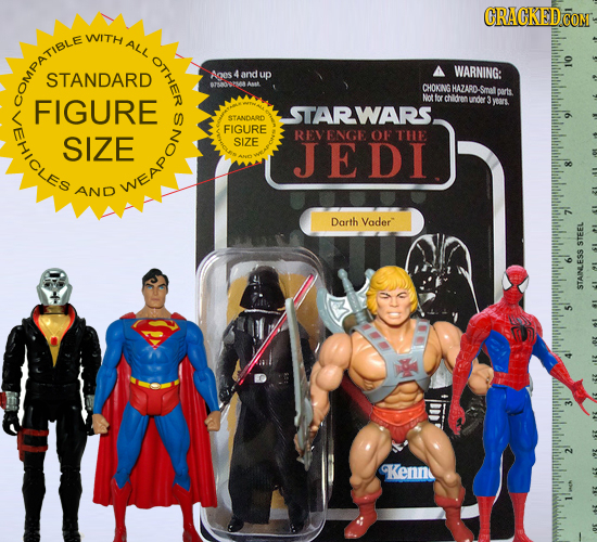 CRACKEDC COM WITH ALL OTHER WARNING: STANDARD Anes 4 and up CHOKNG HAZARD Smal ports COMPATIBLE FIGURE Not Ivr chldren under yoan. LEHICLES STARWARS S