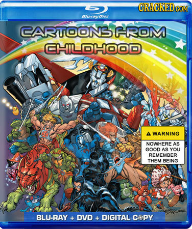 lwauDise CARTOONS FROM CHILDHOOD A WARNING NOWHERE AS GOOD AS YOU REMEMBER THEM BEING BLU-BAY + DVD + DIGITAL CAPy