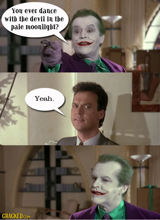 14 Times Famous Characters Wasted A Perfect Joke Setup