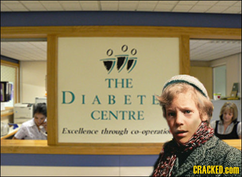 THE DIABETE CENTRE Exxcelleine throeh coeperatiou CRACKED.COM