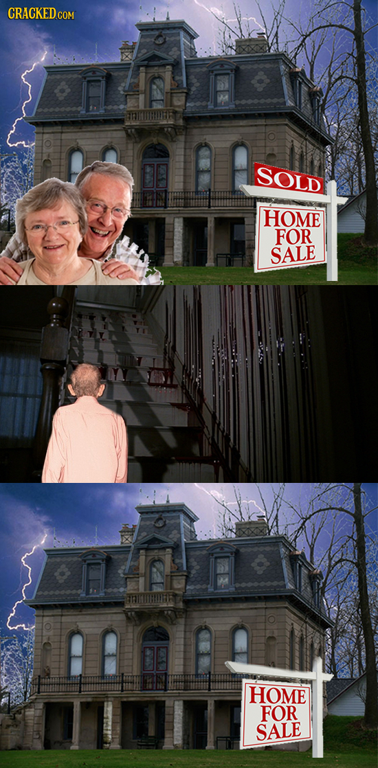22 Famous Horror Movies (If They Were Realistic)