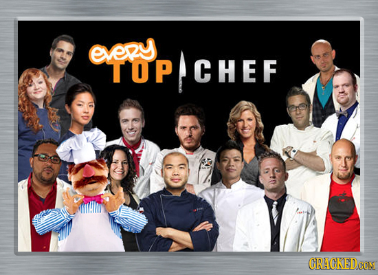 every TOP TOPCHEF CHEF CRACKEDCON