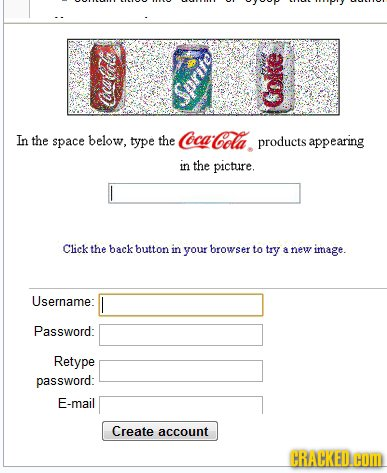 Sprite Oe: In the space below. type the CocaCola products appearing in the picture. Click the back button in your browser to try A new image. Username