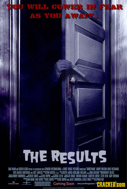 If Horror Movies Were Truly Horrifying