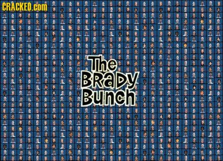 CRACKED.COM The BRADY Bunch