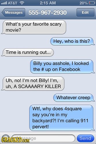 23 Famous Movie Plots Easily Solved by Text Messages