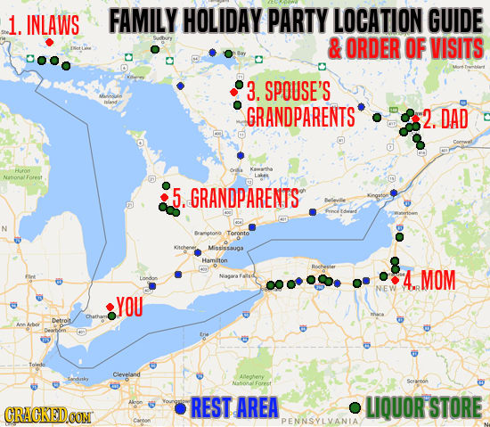 The Holidays Are Here: How To Survive The Damned Parties