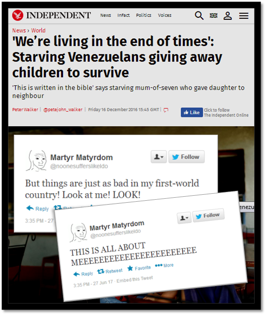 17 Shameful Ways People Respond To News Stories