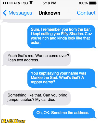 The 17 Most Disastrous 'Sexts' Possible