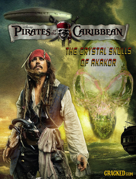 PiRATeS Disney of of CARIBBEAN the THE ERYSTAL SKULLS OF AKAKOR