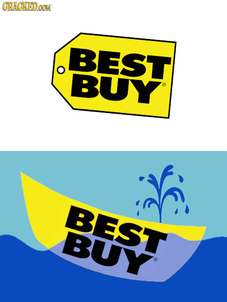 18 Famous Logos, Redesigned To Actually Make Sense