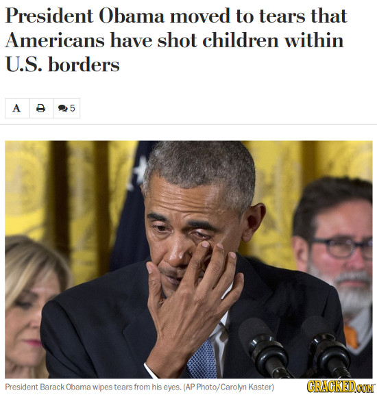 17 'Real' Headlines The Media Is Too Afraid To Write