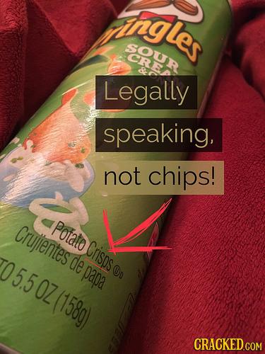 ngles SOUR Legally speaking, not chips! Cruentes Potato Crisos 05.5 0Z(158g) de papa On CRACKED COM