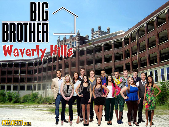 BIG BROTHER Waverly Hills CRACKEDCON