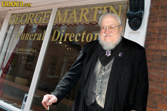 GRAGKEDCON GEORGE MARTTN uneral h Directon HOUR SERTICE