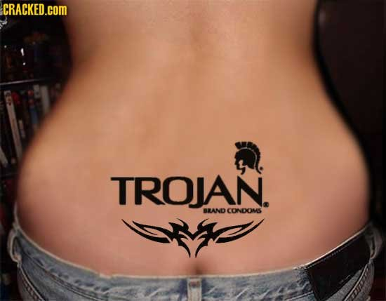CRACKED.cOM TROJAN. BLAND CONDOMS