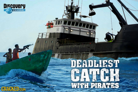 Discovery CHANNELI DEADLIEST CATCH WITH PIRATTES CRACKED CON