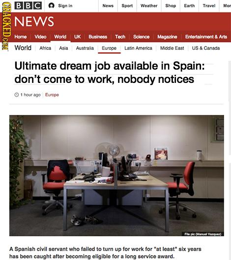 14 'Real' Headlines The Media's Too Afraid To Write (2/19)