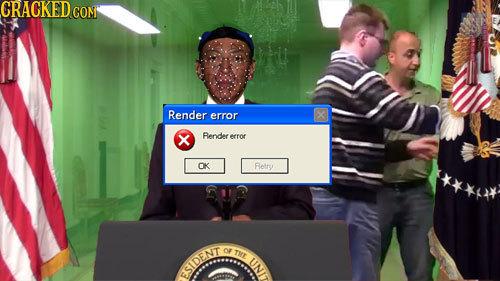CRACKEDCO CON Render error X Render errof OK Retry OF THL iINI ESIDEN