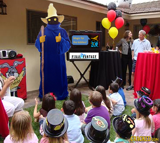 What Video Game Characters Do With Their Downtime