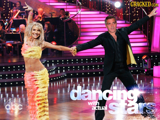 CRACKED COMT dancing abc with actual stars