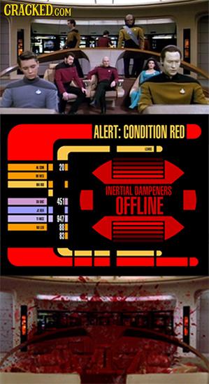 ALERT: CONDITION RED INERTIAL DAMPENERS 4511 OFFLINE 83