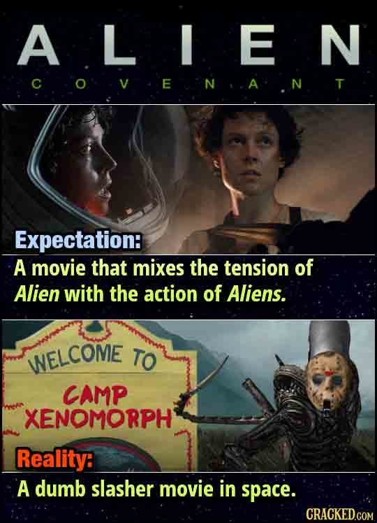 The Movie You Expected, Side By Side With What You Got