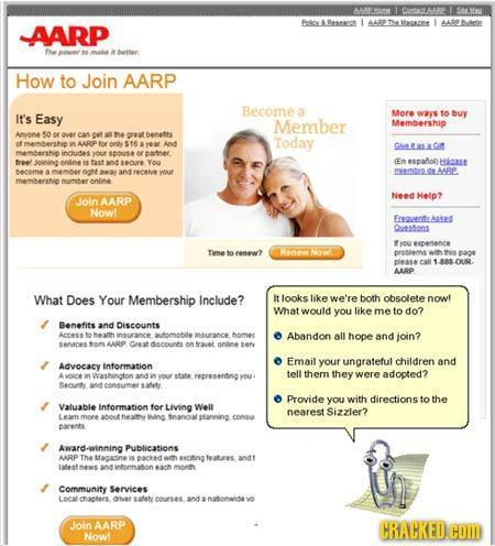 Cott Fetes Pesses L AABPThesates AARP ROSrtin the buettar How to Join AARP Become a Easy More tn buy It's ways Member Membership Anyone 50 er over can