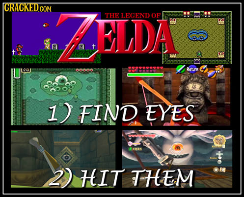 We Summed Up These 20 Video Games For You