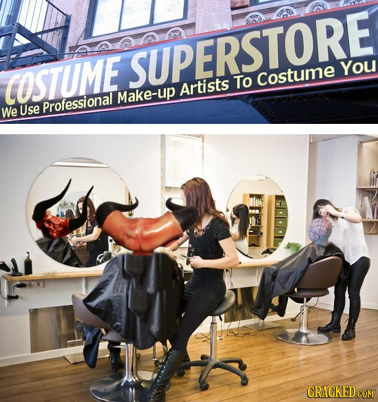 SUPERSTORE You COSTUME To Costume Artists Make-up Use Professional We