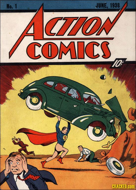 No. 1 Aaron JUNE, 1938 CTON COMICS IOf CRACKED.cOM
