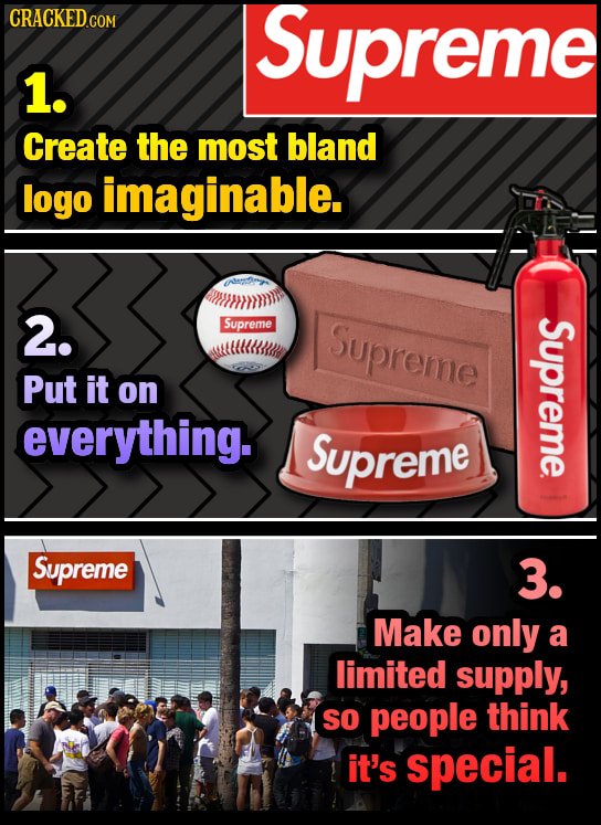 How To Make A Garbage Product Popular, In Three Steps