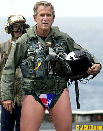 34 Famous Images (If They Handn't Been Wearing Pants)