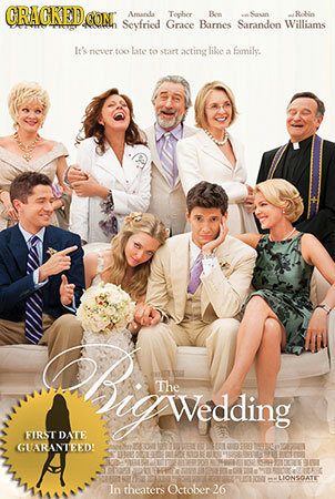 GRACKED CON Amanla Toober Bon Rle Seyfried Grace Barnes Sarandon Williams It's nver too late foseart acting lke family. a hir The Wedding FIRSTDATE GU