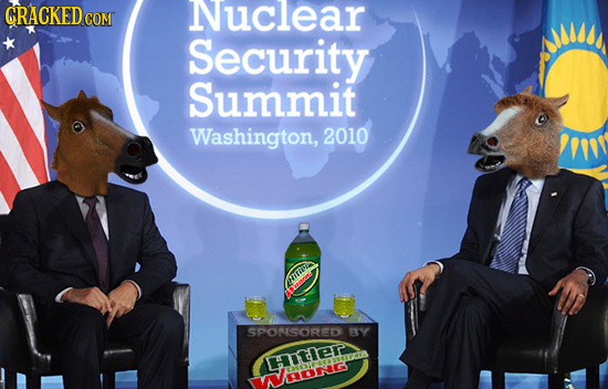 GRACKED Nuclear COM Security Summit Washington, 2010 TH SPONSORED BY DITEr ON