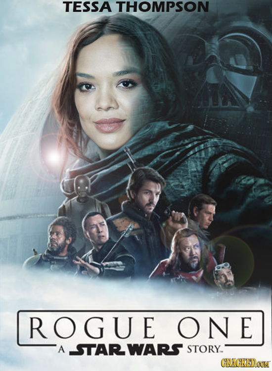 TESSA THOMPSON ROGUE ONE A STARWARS STORY CRAGKEDCON
