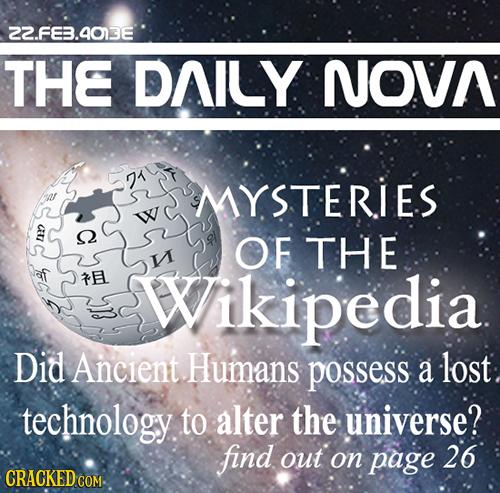 15 Popular Websites as Understood by Future Historians