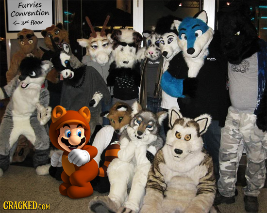 Furries Convention 3rd floor CRACKED CON COM