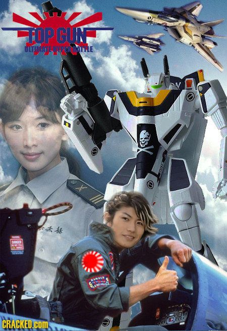 18 Classic Movies, If They'd Been Made in Japan