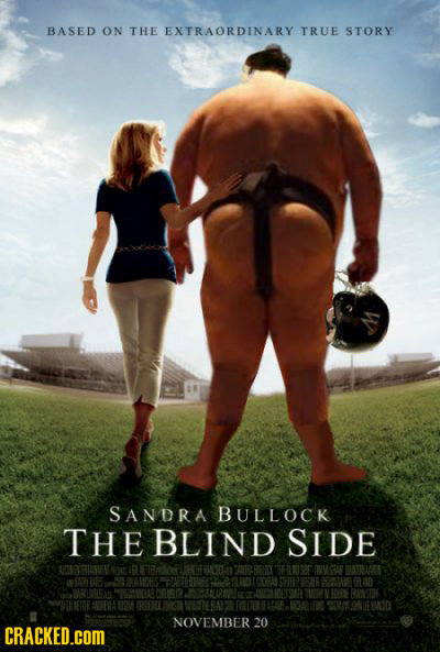 BASED ON THE EXTRAORDINARY TRUE STORY SANDRA BULLOCK THE BLIND SIDE NOVEMBER 20 CRACKED.COM