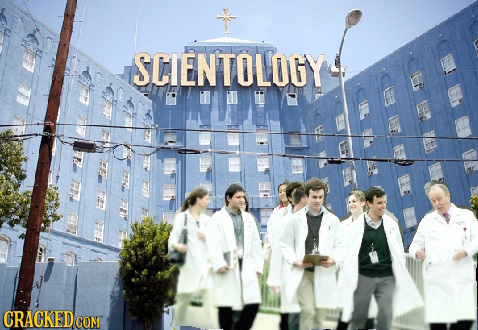 SCIENTOLOGY CRACKED