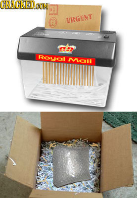 CRACKED coN UIRGENT F Royal Mail