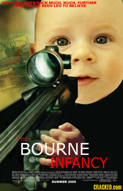 HAS STORY GOES BACK MUCH. MUCH. FURTHER WW WOTNE BEEN LED TO BELIEVE THE BOURNE INFANCY INEREL RCIIES AL AETINLN MAT MMIN BGNE SOEMIAT GARK MINE BICIL